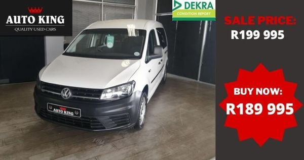 2016 Volkswagen Caddy Maxi CrewBus 2.0 TDI Western Cape Cape Town_0