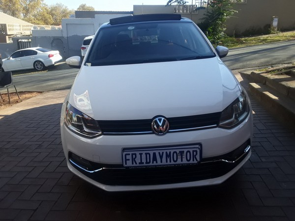 2013 Volkswagen Polo 1.4 Comfortline 5dr  Gauteng Johannesburg_0