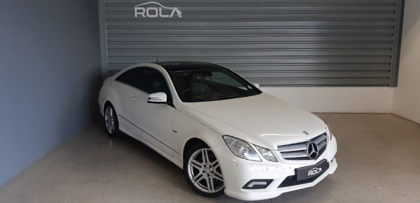 2012 Mercedes-Benz E-Class E250 Cgi Coupe  Western Cape Somerset West_0