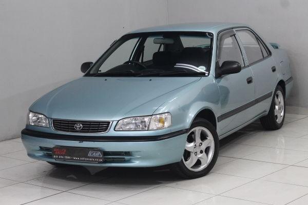 2000 Toyota Corolla 160i GL Manual Gauteng Nigel_0