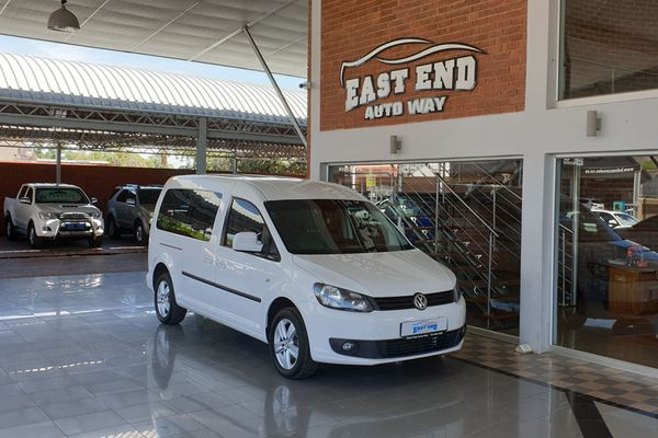 2015 Volkswagen Caddy MAXI Crewbus 2.0 TDi DSG 7 Seater North West Province Rustenburg_0