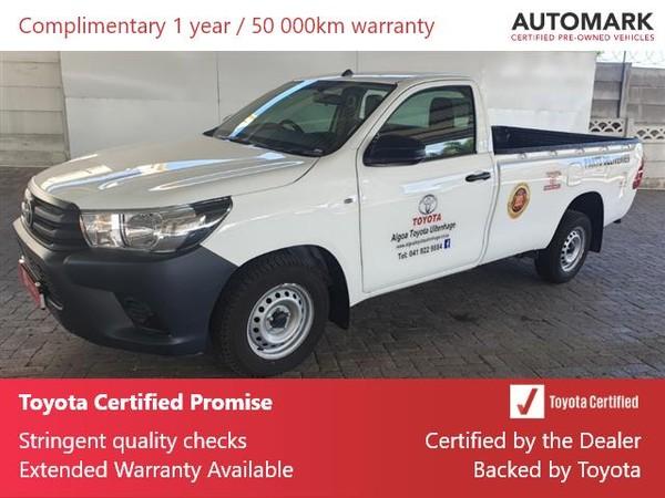 2021 Toyota Hilux 2.4 GD S Single Cab Bakkie Eastern Cape Uitenhage_0