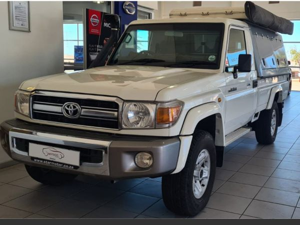 2016 Toyota Land Cruiser 79 4.2d Pu Sc  Western Cape Vredenburg_0