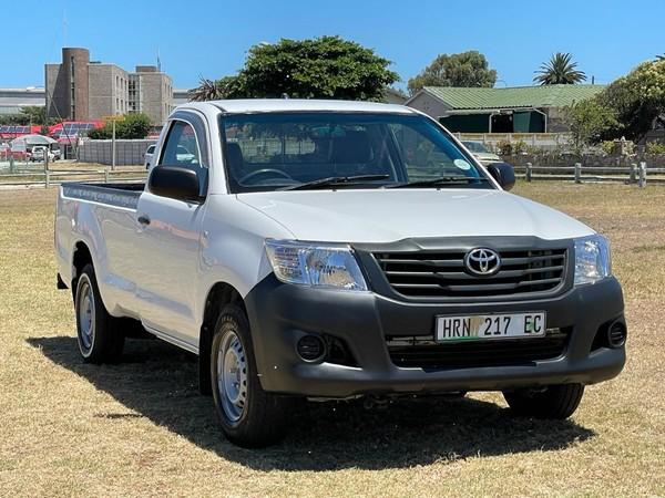 2016 Toyota Hilux 2.0 VVT Single Cab Bakkie Eastern Cape Port Elizabeth_0