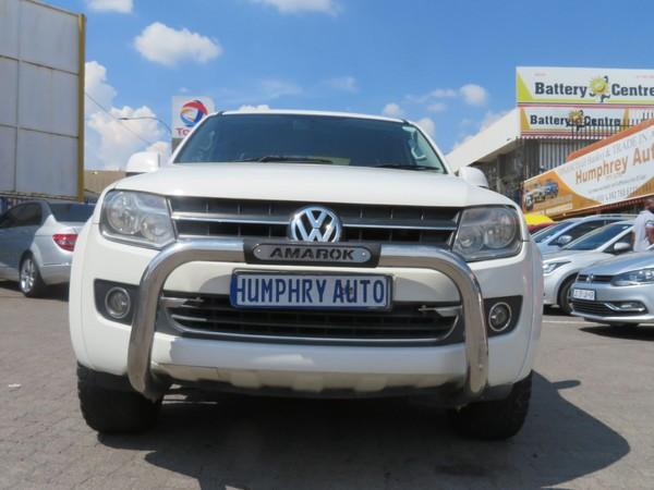 2014 Volkswagen Amarok 2.0 Bitdi Trendline 120kw dcabPu  Gauteng Johannesburg_0