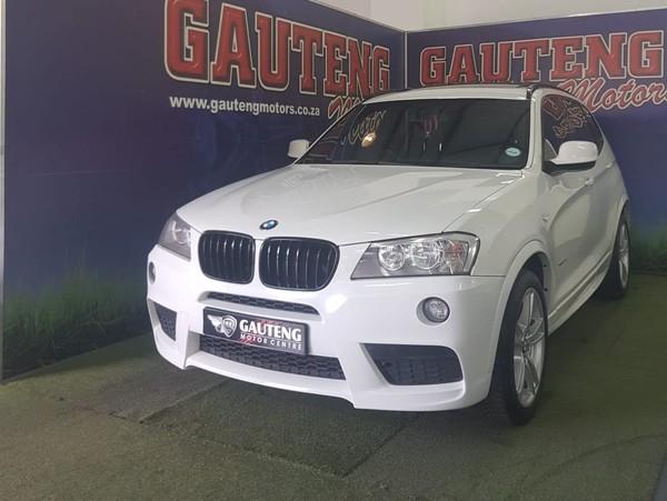 2011 BMW X3 Xdrive20d  M-sport At  Gauteng Pretoria_0