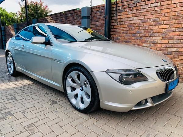 2005 BMW 6 Series 645ci Coupe At e63  Gauteng Pretoria_0