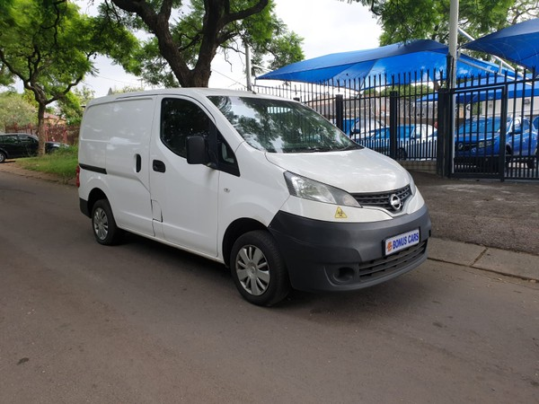 2018 Nissan NV200 1.6i Visia FC Panel van Gauteng Pretoria West_0