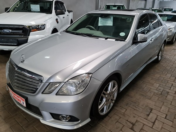 2010 Mercedes-Benz E-Class E 350 Cdi Be Avantgarde  Free State Bloemfontein_0