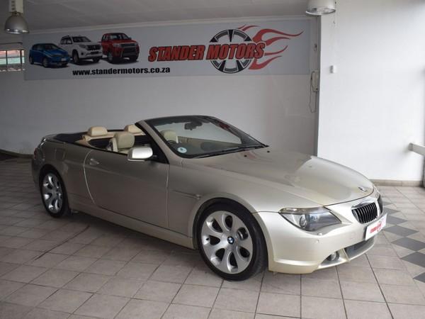 2004 BMW 6 Series 645ci Convertible At e64  Gauteng Nigel_0