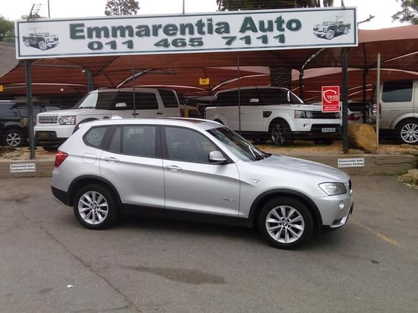 2011 BMW X3 Xdrive20d At  Gauteng Emmarentia_0