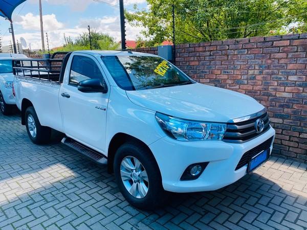 2017 Toyota Hilux 2.4 GD-6 RB SRX Single Cab Bakkie Gauteng Pretoria_0