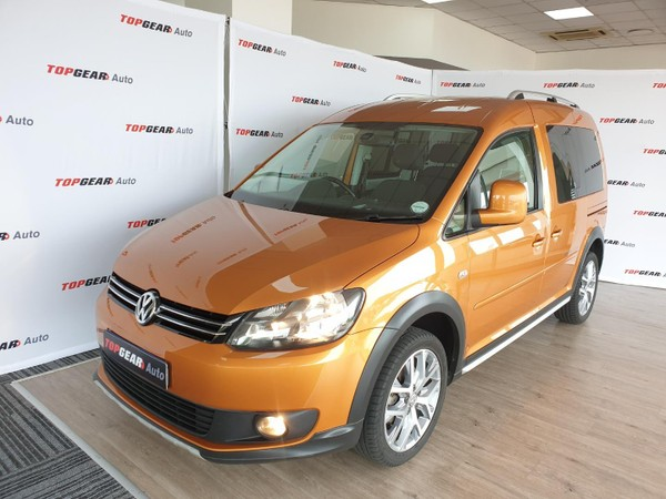2015 Volkswagen Caddy Cross 2.0 TDi 81KW Gauteng Bryanston_0