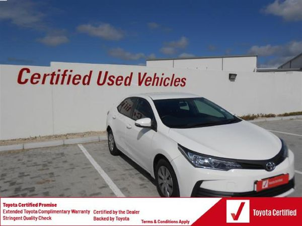 2020 Toyota Corolla Quest 1.8 CVT Eastern Cape Port Elizabeth_0