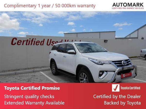 2020 Toyota Fortuner 2.8GD-6 4X4 Epic Auto Eastern Cape Port Elizabeth_0