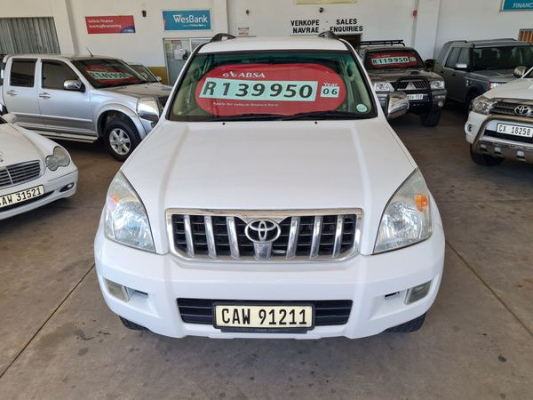 2006 Toyota Prado Vx 4.0 V6 At  Western Cape George_0