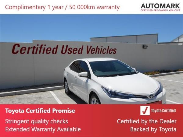 2020 Toyota Corolla Quest 1.8 Exclusive CVT Eastern Cape Port Elizabeth_0