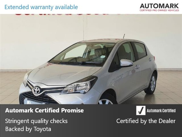 2015 Toyota Yaris 1.3 5-Door North West Province Klerksdorp_0