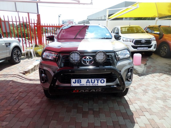 2016 Toyota Hilux 2.7 VVTi RB SRX Double Cab Bakkie Gauteng Bramley_0