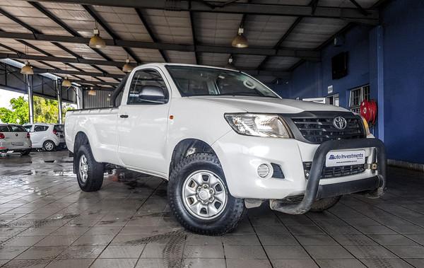2015 Toyota Hilux 2.5d-4d Srx Pu Sc  Mpumalanga Middelburg_0