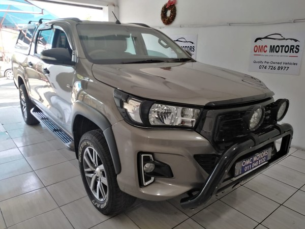2016 Toyota Hilux 2.7 VVTi RB SRX Double Cab Bakkie Gauteng Johannesburg_0