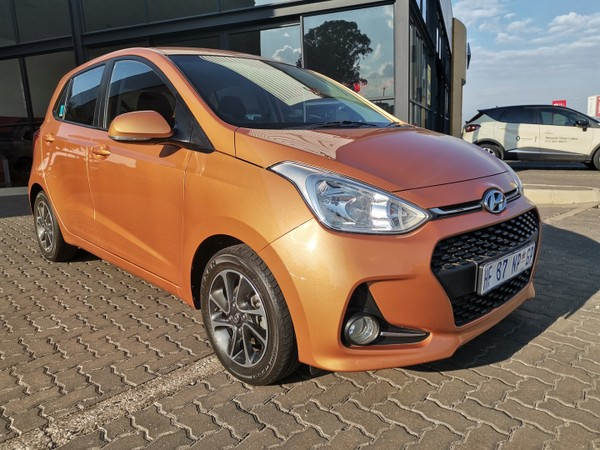 2018 Hyundai Grand i10 1.25 Fluid Gauteng Pretoria_0