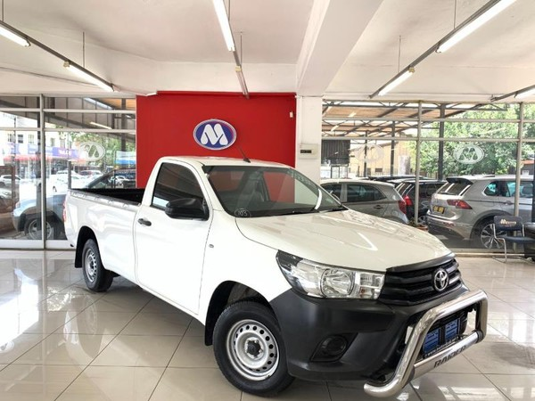 2018 Toyota Hilux 2.0 VVT Single Cab Bakkie Gauteng Vereeniging_0