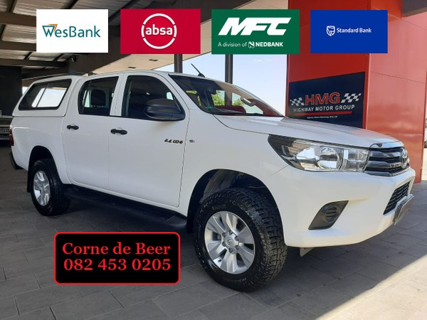 2016 Toyota Hilux 2.4 GD-6 SRX 4x4 Double Cab Bakkie North West Province Klerksdorp_0