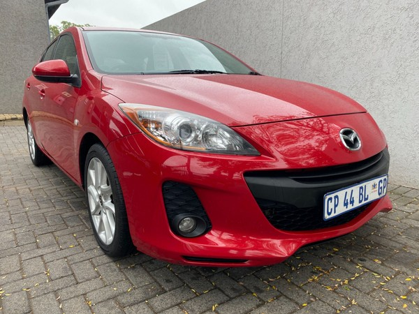 2013 Mazda 3 1.6 Sport Dynamic  Gauteng Vanderbijlpark_0