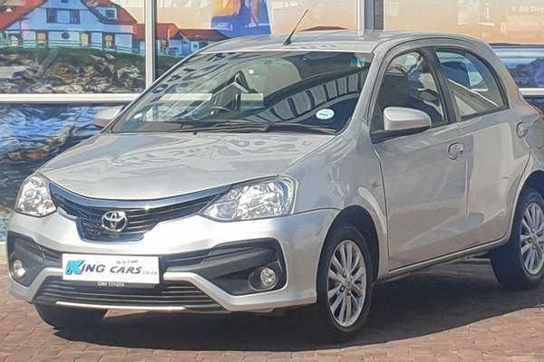 2018 Toyota Etios 1.5 Xs 5dr  Eastern Cape Port Elizabeth_0
