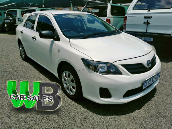 2014 Toyota Corolla Quest 1.6 Auto North West Province Klerksdorp_0