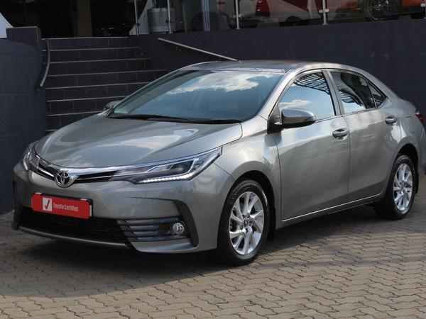 2017 Toyota Corolla 1.8 High CVT Gauteng Johannesburg_0