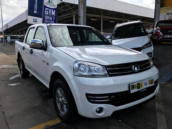 2018 GWM Steed 5 2.2 MPi SV Double Cab Bakkie Gauteng Pretoria_0