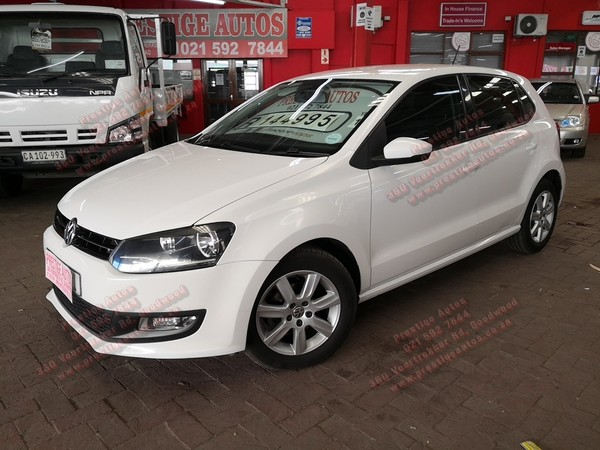 2012 Volkswagen Polo 1.4 Comfortline  Western Cape Goodwood_0