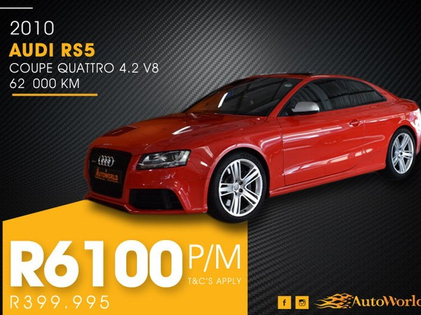 2010 Audi RS5 Coupe Quattro Stronic  Western Cape Goodwood_0