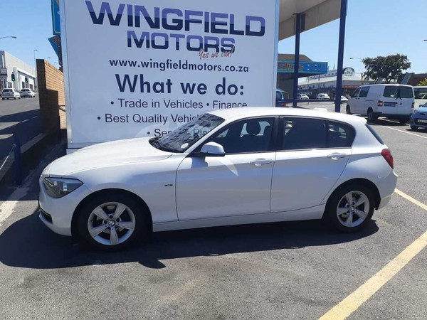 2013 BMW 1 Series 118i 5dr At f20  Western Cape Bellville_0