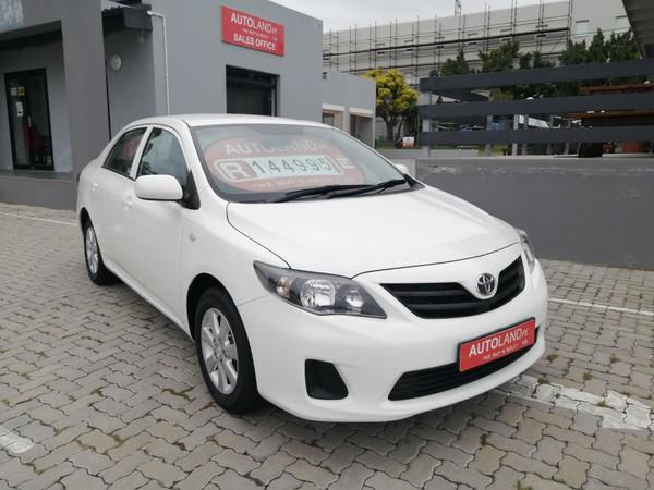 2014 Toyota Corolla Quest 1.6 Plus Eastern Cape Port Elizabeth_0