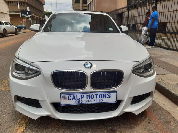 2013 BMW 1 Series 116i M Sport Line 5dr At f20  Gauteng Marshalltown_0
