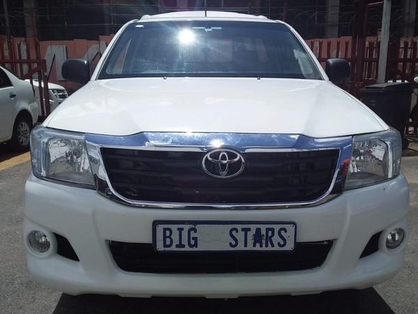 2011 Toyota Hilux 2.5 D-4d Pu Sc  Gauteng Johannesburg_0