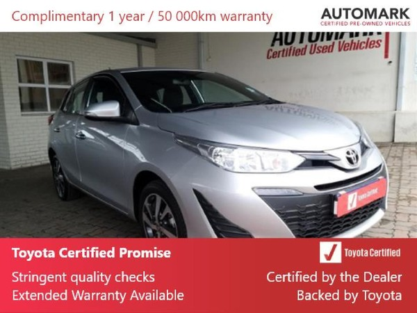 2019 Toyota Yaris 1.5 Xs CVT 5-Door Eastern Cape King Williams Town_0