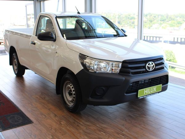2021 Toyota Hilux 2.4 GD S Single Cab Bakkie Gauteng Randburg_0