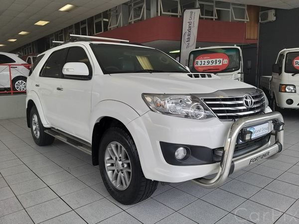 2013 Toyota Fortuner 2.5d-4d Rb  Eastern Cape East London_0