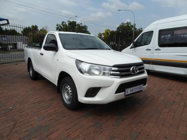 2019 Toyota Hilux 2.4 GD AC Single Cab Bakkie Gauteng Bramley_0