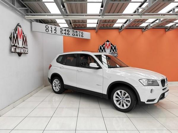 2014 BMW X3 Xdrive20d At  Gauteng Pretoria_0