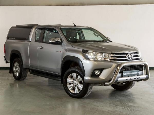 2017 Toyota Hilux 2.8 GD-6 Raider 4x4 Extended Cab Bakkie Gauteng Pretoria_0