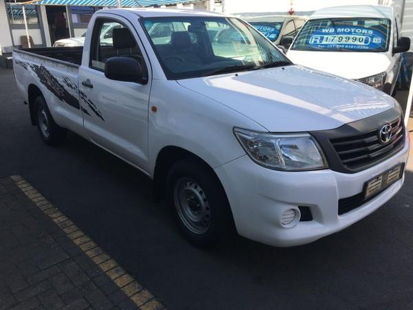2013 Toyota Hilux 2.5 D-4d Pu Sc  Kwazulu Natal Durban_0