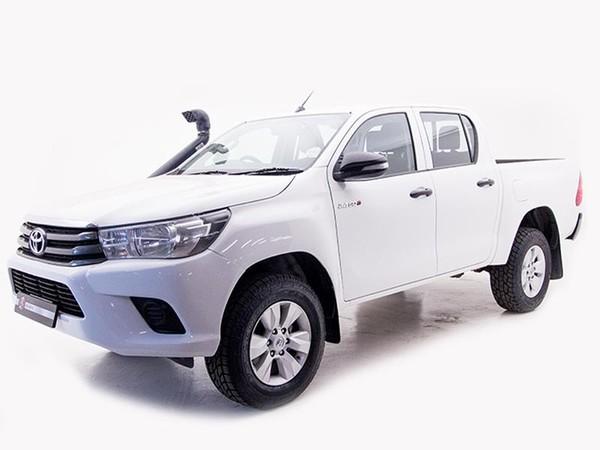 2018 Toyota Hilux 2.4 GD-6 SRX 4x4 Double Cab Bakkie Gauteng Boksburg_0