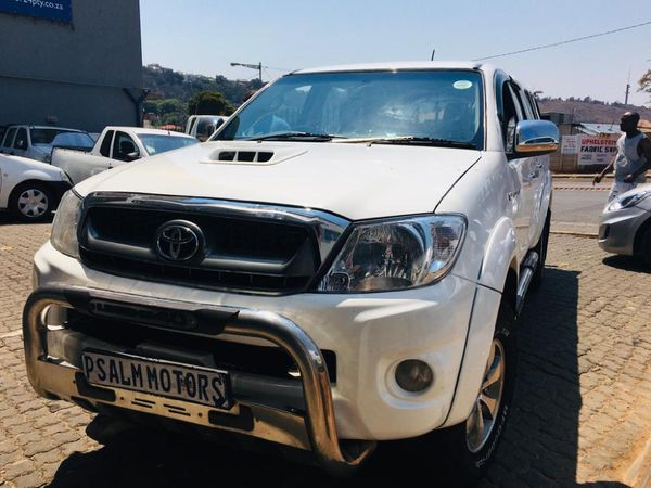 2008 Toyota Hilux 3.0 D-4D Raider 4x4 Double-Cab Gauteng Johannesburg_0