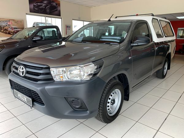 2021 Toyota Hilux 2.0 VVTi AC Single Cab Bakkie Kwazulu Natal Eshowe_0