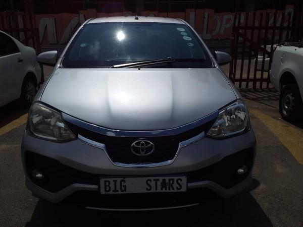 2018 Toyota Etios 1.5 Xs  Gauteng Johannesburg_0